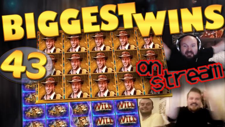 Casino Streamers Biggest Wins Compilation Video #43