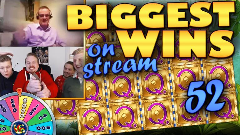 Casino Streamers Biggest Wins Compilation Video #52