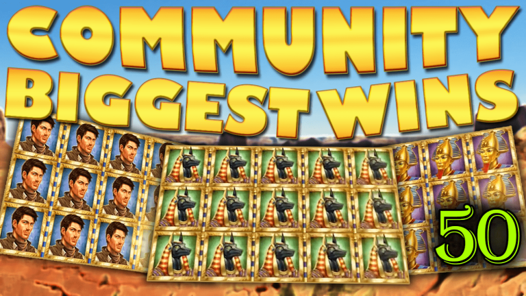 Community Big Wins Slots Compilation Video: #50/2017