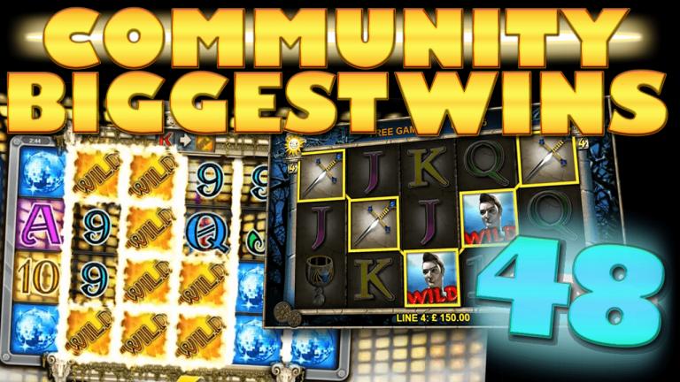 Community Big Wins Slots Compilation Video: #48/2017