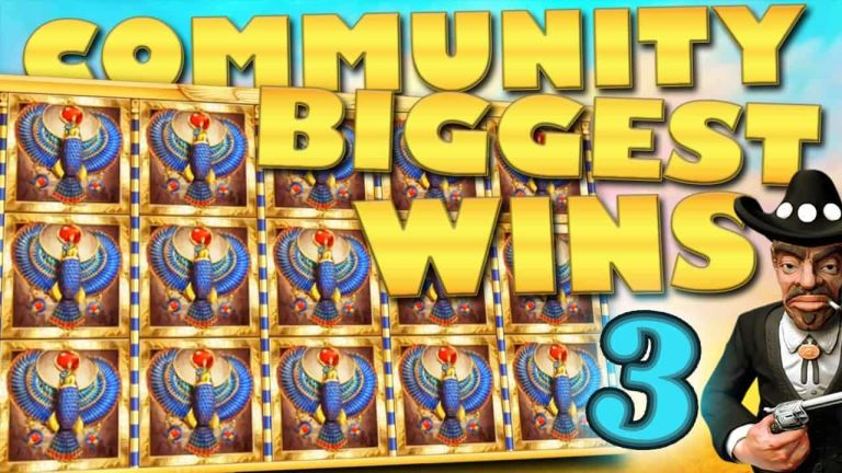 Community Big Wins Slots Compilation Video: #3/2018