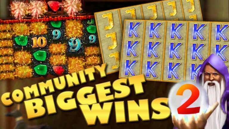 Community Big Wins Slots Compilation Video: #2/2018