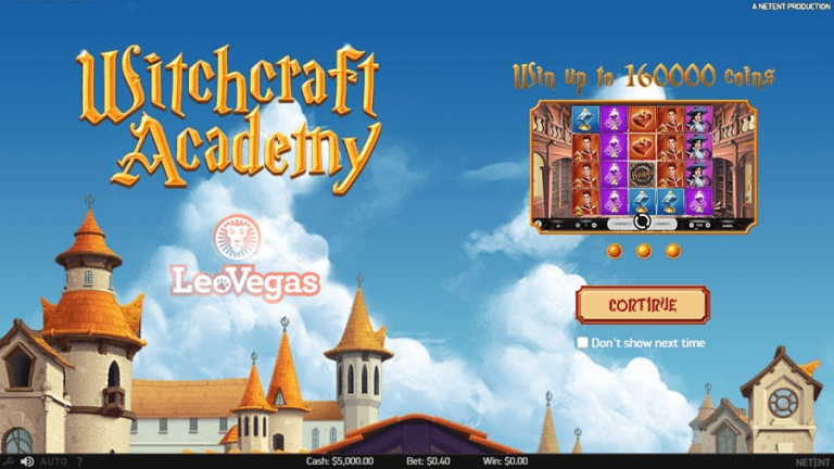 Exclusive Witchcraft Academy Premiere on LeoVegas