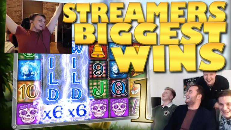 Casino Streamers Biggest Wins Compilation Video #1/2018