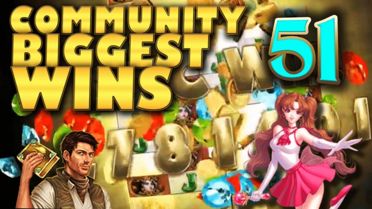 Community Big Wins Slots Compilation Video: #51/2017