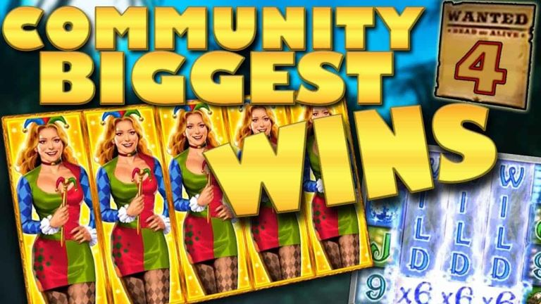 Community Big Wins Slots Compilation Video: #4/2018