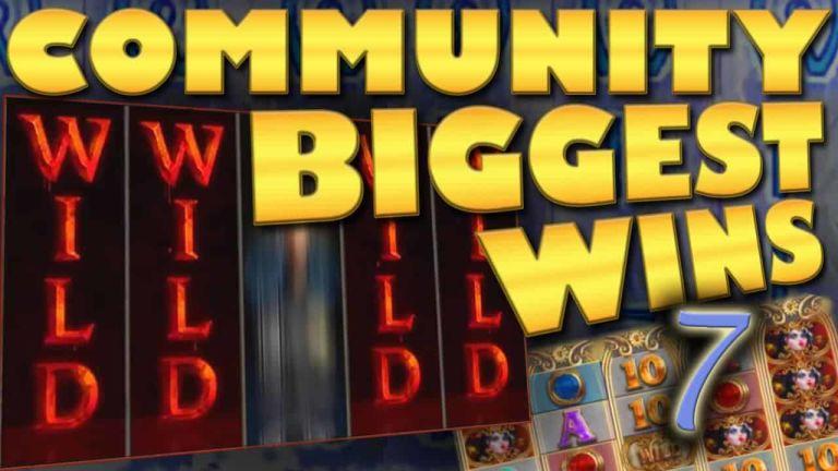 Community Big Wins Slots Compilation Video: #7/2018
