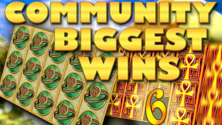 Community Big Wins Slots Compilation Video: #6/2018