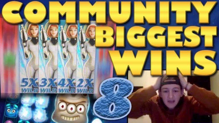 Community Big Wins Slots Compilation Video: #8/2018