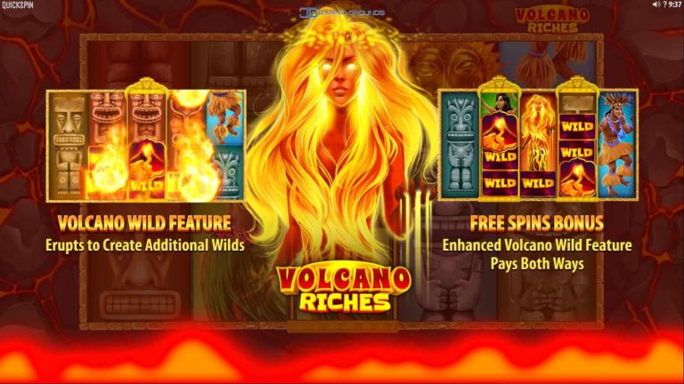 New Slot Reviewed – Quickspin – Volcanic Riches