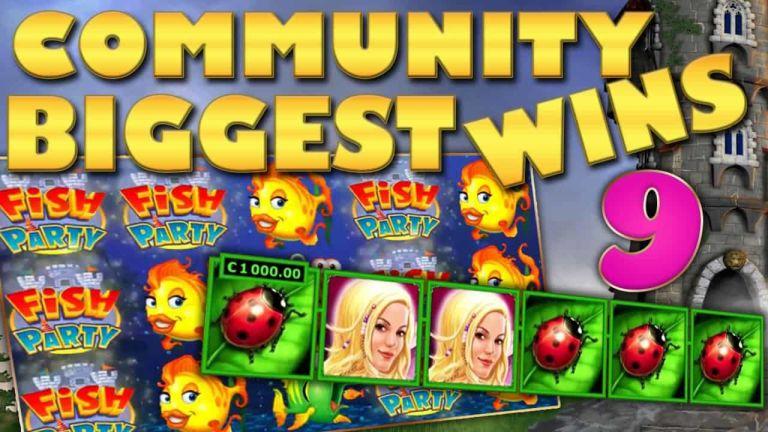 Community Big Wins Slots Compilation Video: #9/2018
