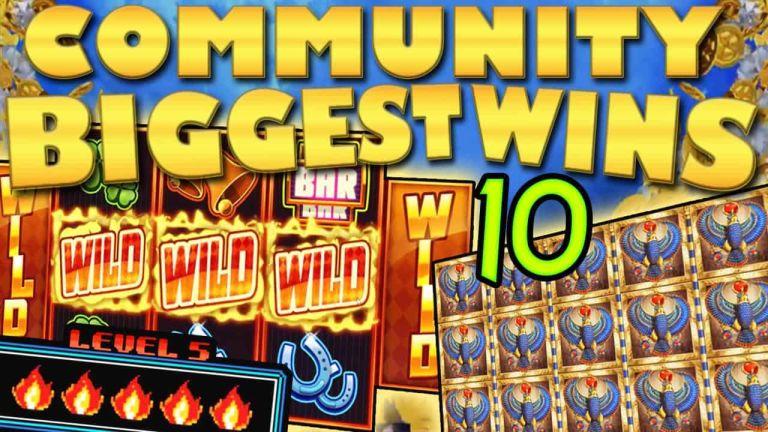 Community Big Wins Slots Compilation Video: #10/2018