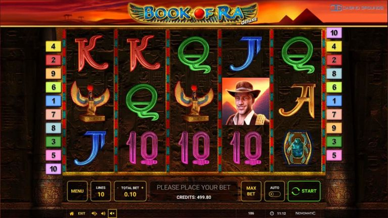 Video Slot Review – Book of Ra Deluxe - Novomatic