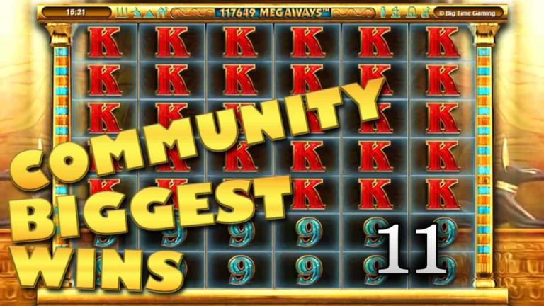 Community Big Wins Slots Compilation Video: #11/2018