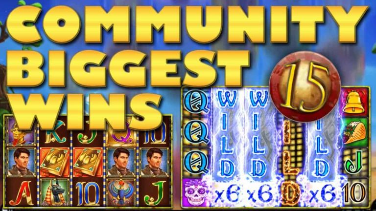 Community Big Wins Slots Compilation Video: #15/2018