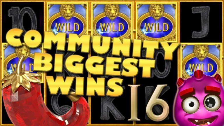Community Big Wins Slots Compilation Video: #16/2018