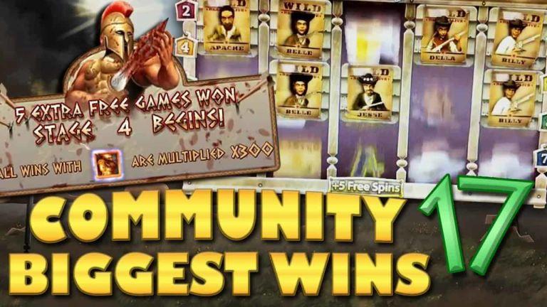 Community Big Wins Slots Compilation Video: #17/2018