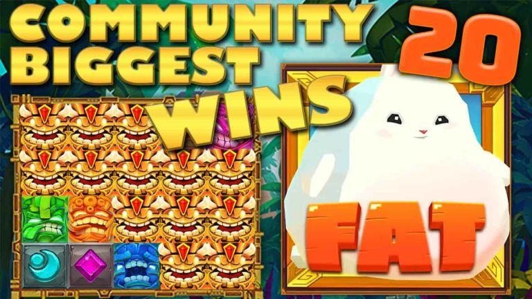 Community Big Wins Slots Compilation Video: #20/2018
