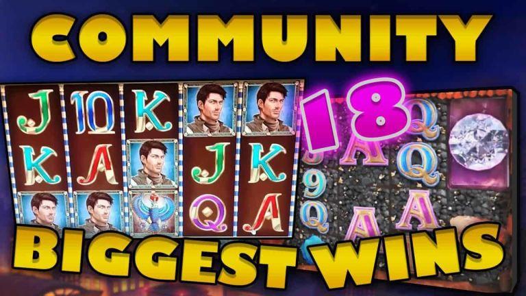 Community Big Wins Slots Compilation Video: #18/2018