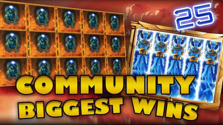 Community Big Wins Slots Compilation Video: #25/2018