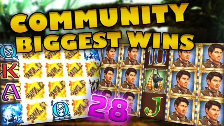 Community Big Wins Slots Compilation Video: #28/2018