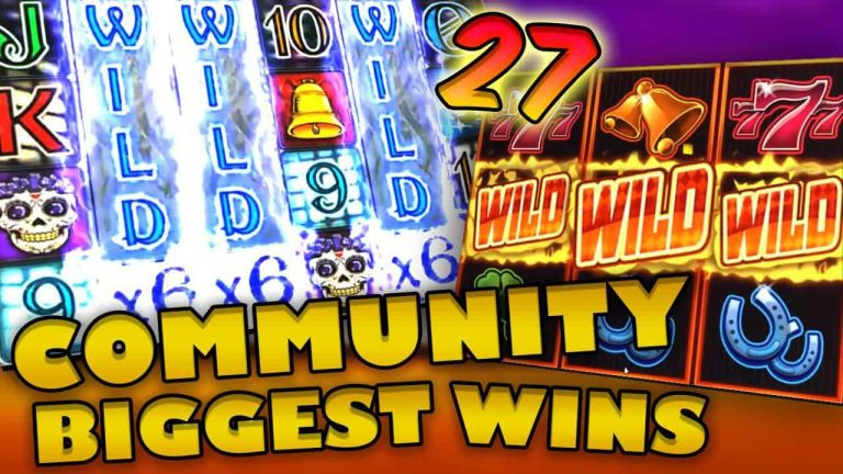 Community Big Wins Slots Compilation Video: #27/2018