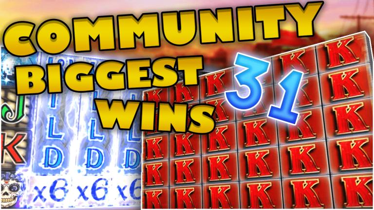 Community Big Wins Slots Compilation Video: #31/2018