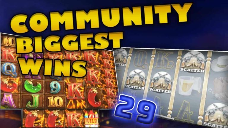 Community Big Wins Slots Compilation Video: #29/2018