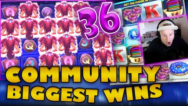 Community Big Wins Slots Compilation Video: #36/2018