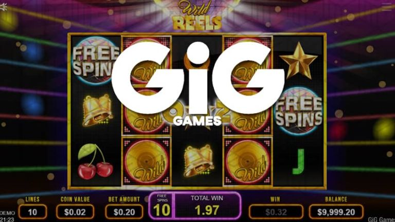 Wild Reels - First GIG Games Slot Now Live