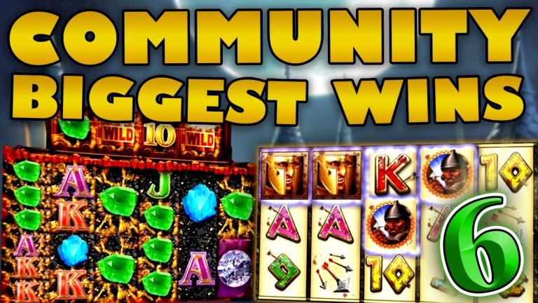 Community Big Wins Slots Compilation Video: #6 /2019