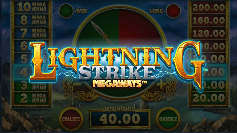 MegaWays Game Live: Lightning Strike from Blueprint Gaming