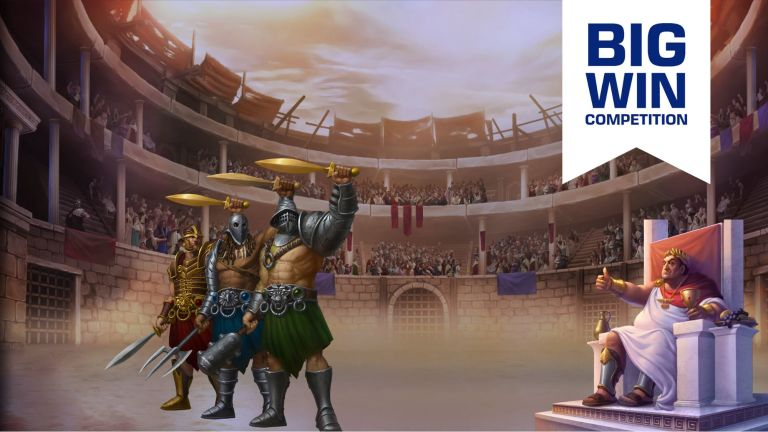 [BigWin Competition] Champions of Rome from Yggdrasil