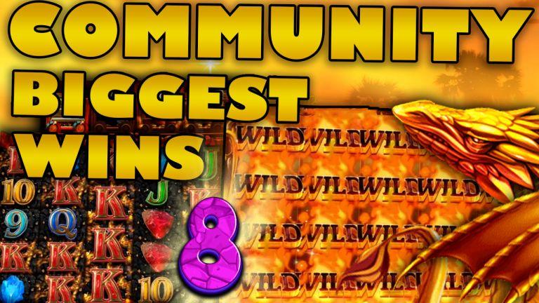 Community Big Wins Slots Compilation Video: #8/2019