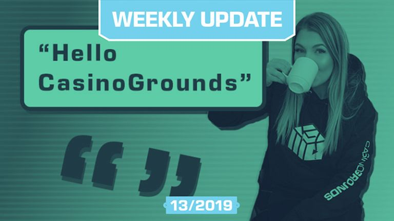 CasinoGrounds Weekly 13 - So many giveaways
