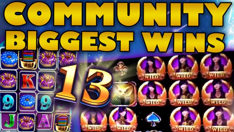 Community Big Wins Slots Compilation Video: #13/2019