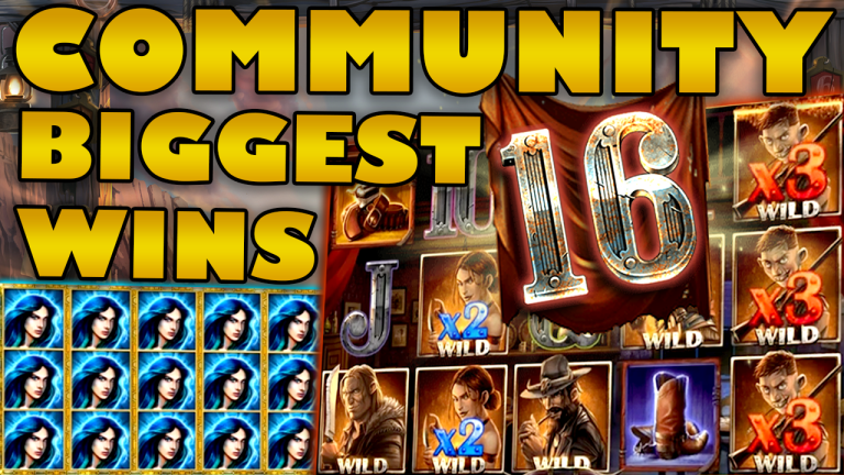 Community Big Wins Slots Compilation Video: #16/2019