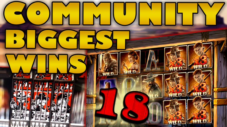 Community Big Wins Slots Compilation Video: #18/2019