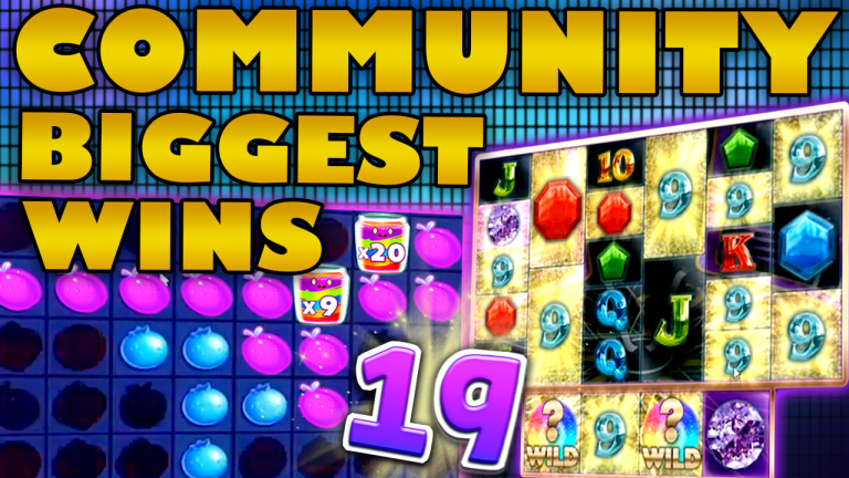 Community Big Wins Slots Compilation Video: #19/2019