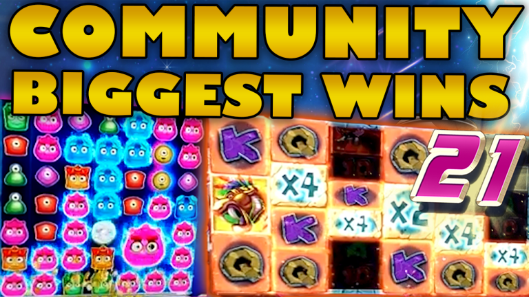 Community Big Wins Slots Compilation Video: #21/2019