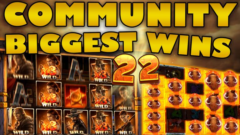 Community Big Wins Slots Compilation Video: #22/2019
