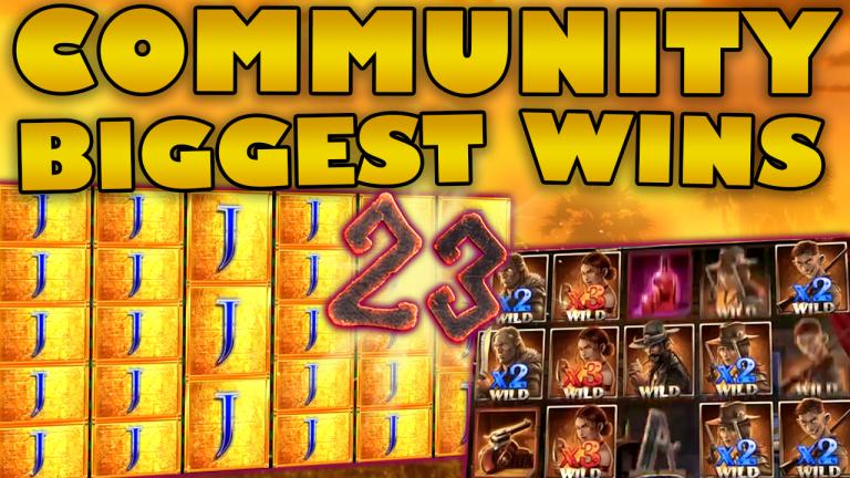 Community Big Wins Slots Compilation Video: #23/2019