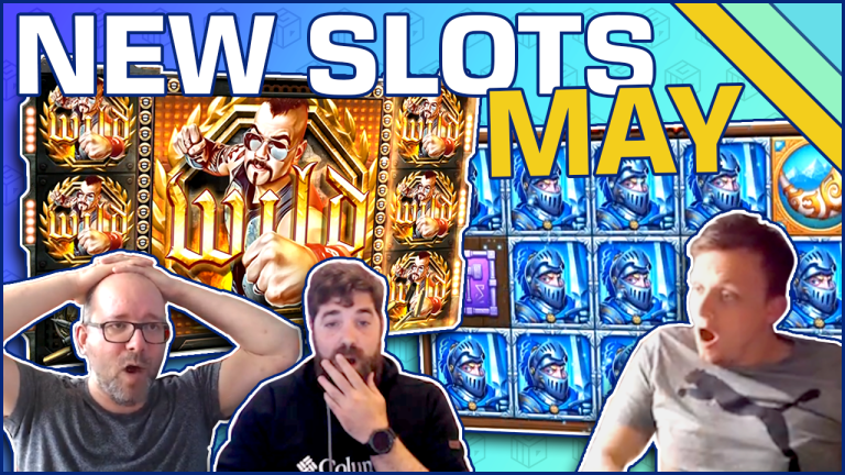 Best New Video Slots of May 2019 & Great Wins