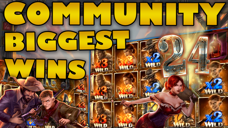 Community Big Wins Slots Compilation Video: #24/2019