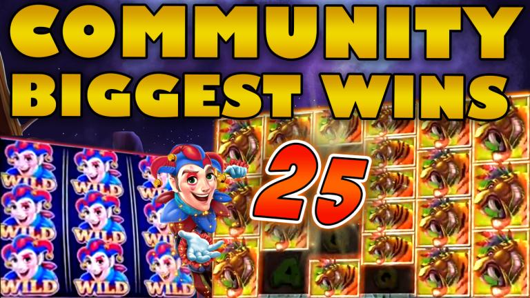 Community Big Wins Slots Compilation Video: #25/2019
