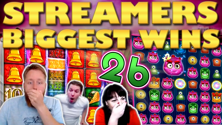 Casino Streamers Biggest Wins Compilation Video #26/2019
