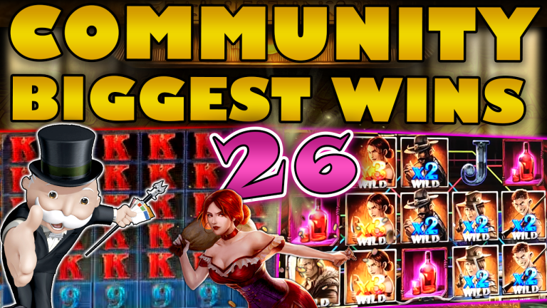Community Big Wins Slots Compilation Video: #26/2019