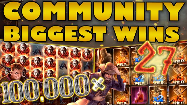 Community Big Wins Slots Compilation Video: #27/2019
