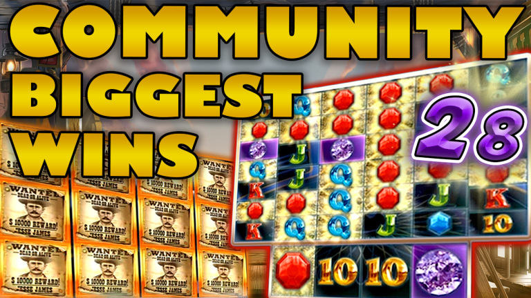 Community Big Wins Slots Compilation Video: #28/2019