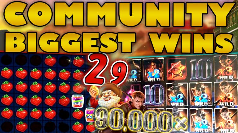Community Big Wins Slots Compilation Video: #29/2019
